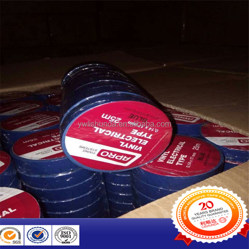 Electrical tape (or insulating tape) is a type of pressure-sensitive tape used to insulate electrical wires and other materials