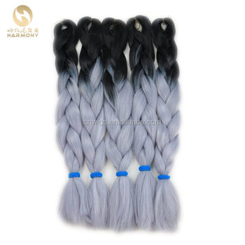Hairstyles Beauty Blue Ombre Hairsilver