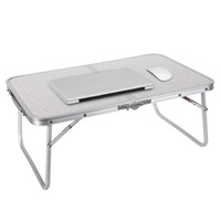 Portable Outdoor Camping Large Bed Tray Foldable Laptop Desk laptop computer table