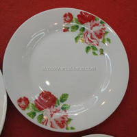 Opal porcelain Dishes Plates Dining Table Sets