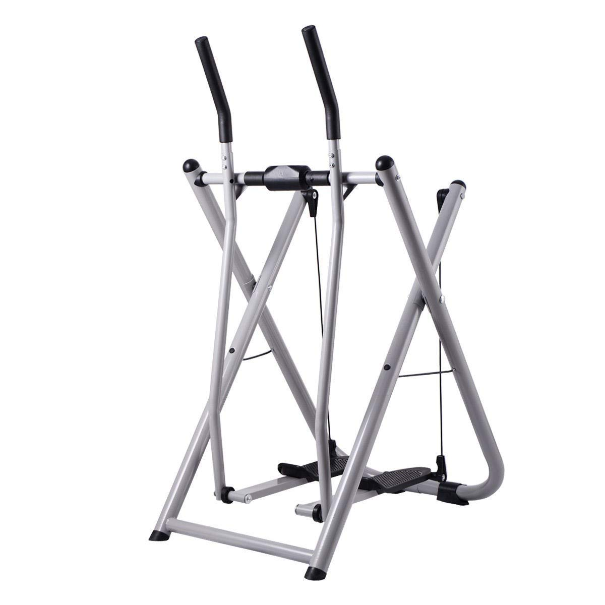 BeUniqueToday Folding Air Walker Glider Fitness Exercise Machine, Brand New and Folding Air Walker Glider Fitness Exercise Machine, Durable Air Walker Glider Fitness Exercise Machine