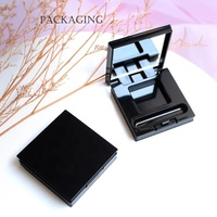 single hole Empty Magnetic Makeup Palette Eyeshadow Eye Shadow Case