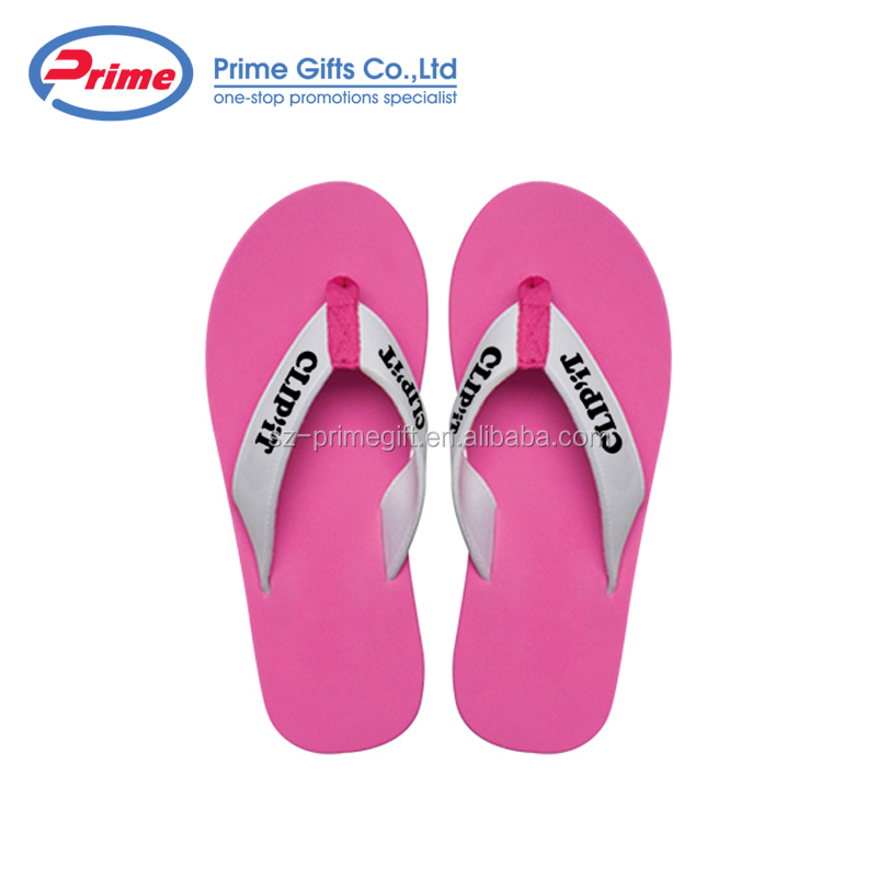 Personalized Wedding Favors Flip Flop Slippers with Custom Logo