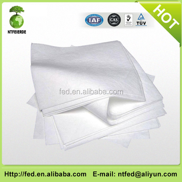 high quality oil absorbent pads