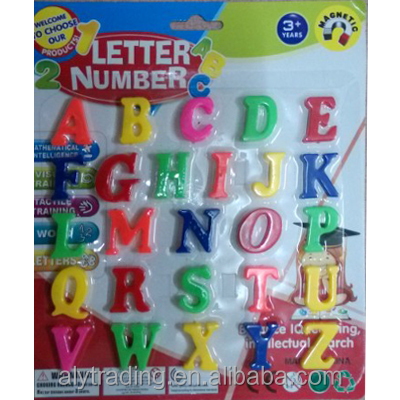 Educational plastic magnetic number/letter/<strong>Arabic</strong> for teaching children