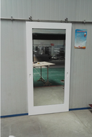 Hampton Inn Mirror Sliding Barn Doors For Bathroom And Closet ...