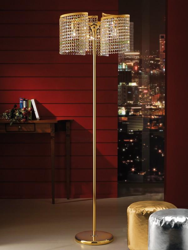 Crystal chandelier floor lamp wholesale floor lamp suppliers alibaba aloadofball Choice Image