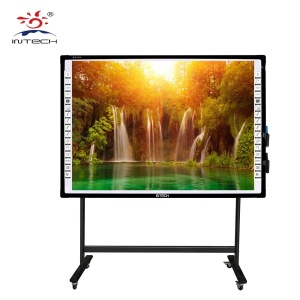 Interactive Whiteboard Surface Material with Projection panel