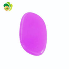 2017 NEW oval facial beauty cosmetic flawless thin blender gel silicone makeup sponge