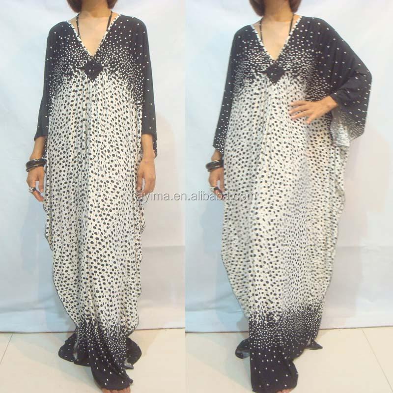 how to make a kaftan dress