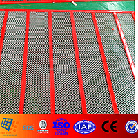 #77 High Tensile 65Mn Crimped Steel Wire Mesh for Vibrating Screen