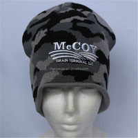 100% acrylic cheap and good quality knitted cap and hat