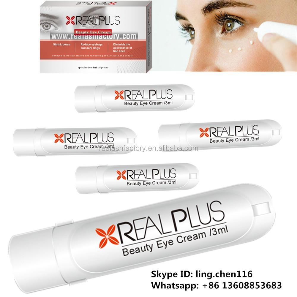 Remove Eye Bags Instantly Real Plus Beauty Eye Cream.