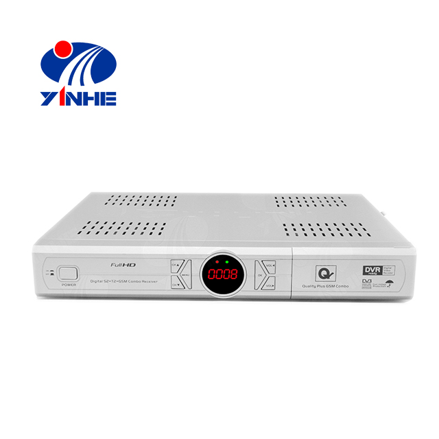 HD MPEG4 DVB C stb con Amlogic Chipset Supporto H.264 PVR Display A LED
