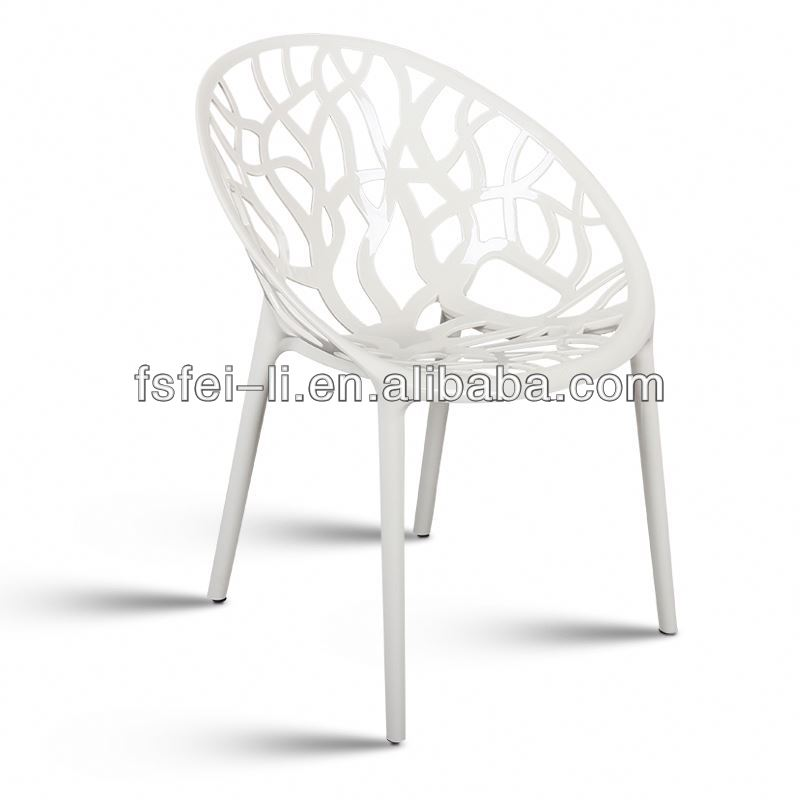 Perfect plastic chair wood frame dining chair supplier