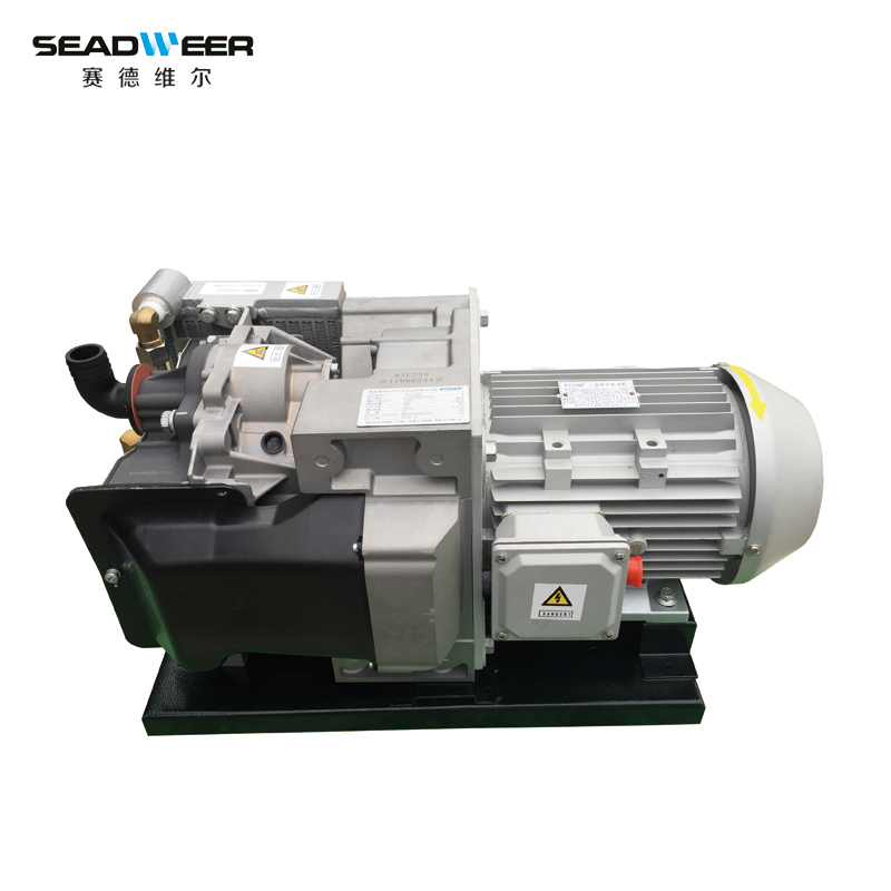 China electric bus oil-free scroll air compressor New energy oil free automobile air compressor