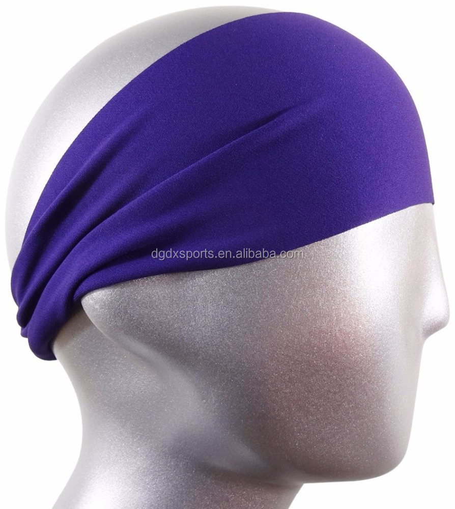 New fashion vintage crown pattern chiffon custom printed headbands for  teenagers f1d9ca13b43