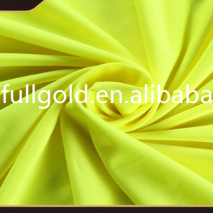 Top quality woven plain polyester pongee silk fabric