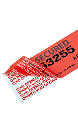 anti fake counter feit warranty proof tamper evident seal security label custom void anti theft sticker