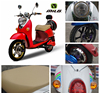 China cheap red women mini luxury scooter electric moped with pedals