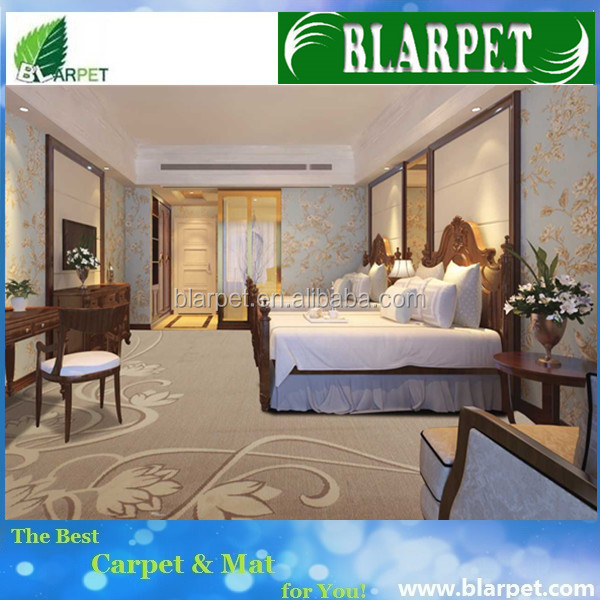 Super quality hot sell heavy duty fire retardant hotel loop pile tufted carpet