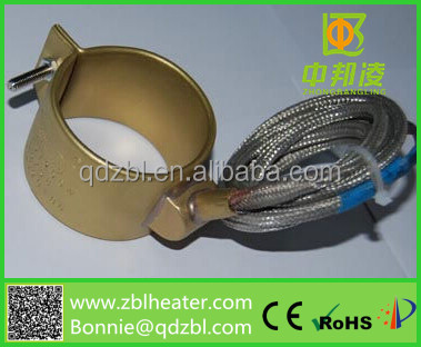 Hot Runner nozzle heater/Electric Brass Nozzle Band Heater/industrail heater