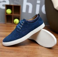 zm10313a 100% real picture Big size 46 47 48 49 sneakers men rubber sole cowhide leather shoes