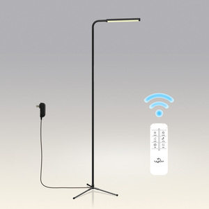 Modern Simple Metal Tripod Standing Adjustable LED Floor Lamp for Reading