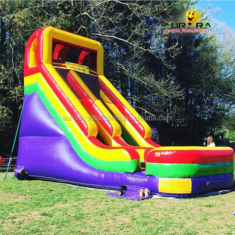 New design used inflatable water <strong>slide</strong> for sale