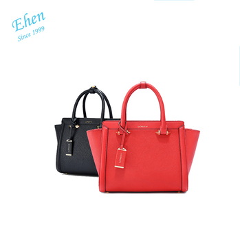 2017 Excellent Quality Famous Leather Brand Name Europe Handbags With Customized Logo