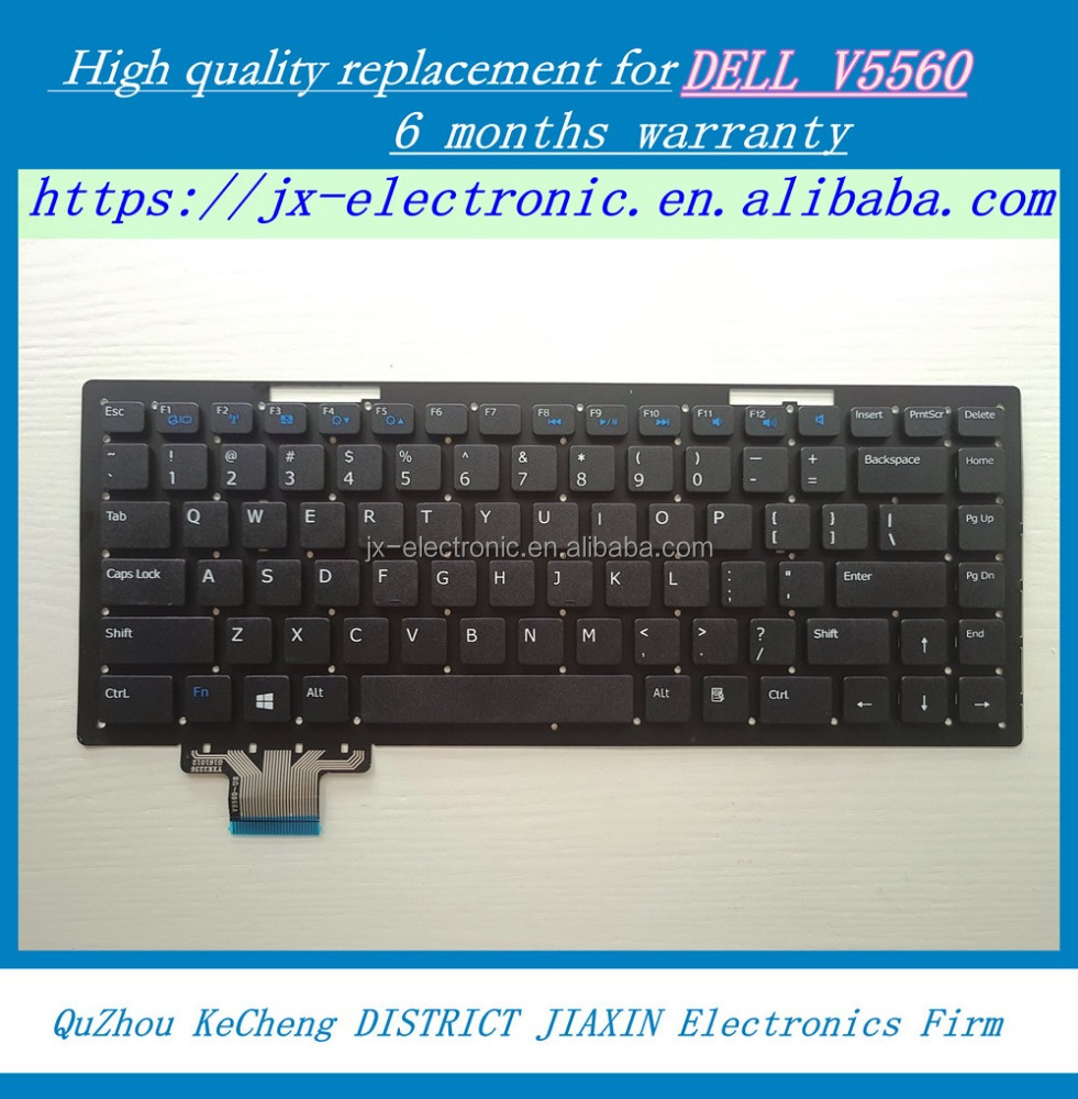 laptop keyboard for Dell Vostro 5560 V5560 P34F P34H US Teclado US Black