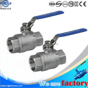 2 inch Stainless Steel Ball Valve1000PSI,stainless steel 2 pc ball valves dn40