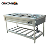 Food Warmer Buffet Electric Chafing Dish Electric Bain Marie Free Standing Machine
