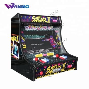 21 5''' 2 Player Street Fighter 2 Arcade Game Machine For Sales - Buy  Street Fighter 2 Arcade Game Machine,Mini Arcade Cabinet,Arcade Multi Game