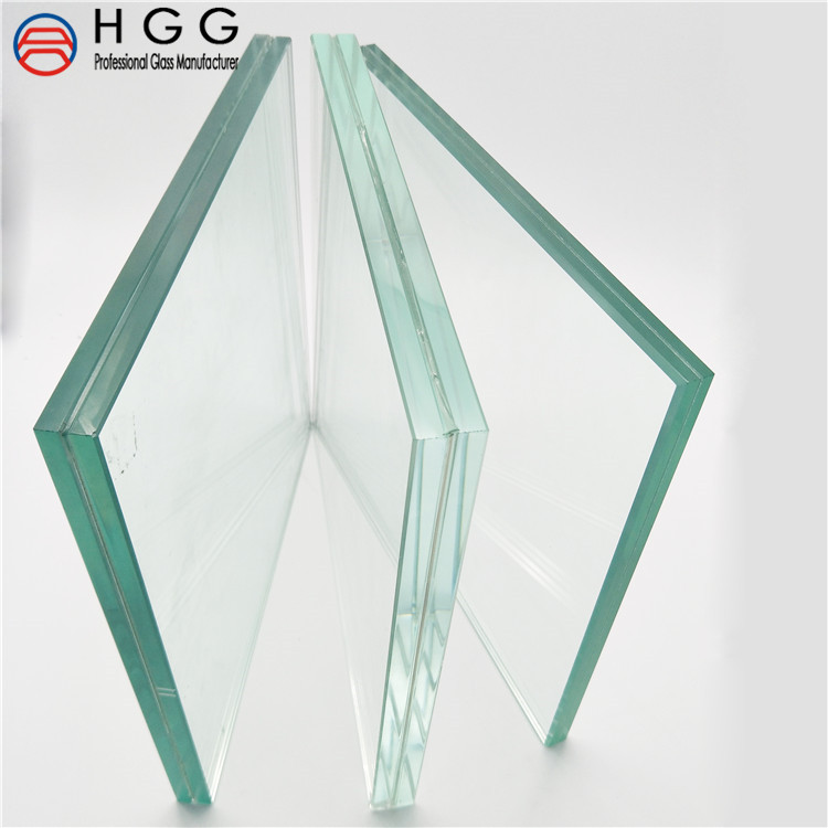 CE 12150 tempered laminated glass for windows balustrade roof skylight railings