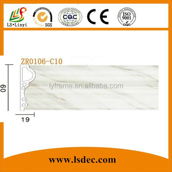 Lightweight Pvc Decoration Line Moulding