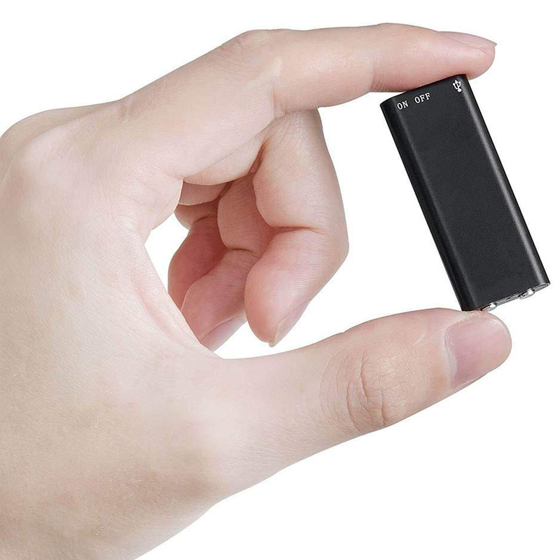 Mini USB Digital Voice Recorder Lettore MP3 192kbps Audio Suono Nascosta Dispositivo di Registrazione 8GB