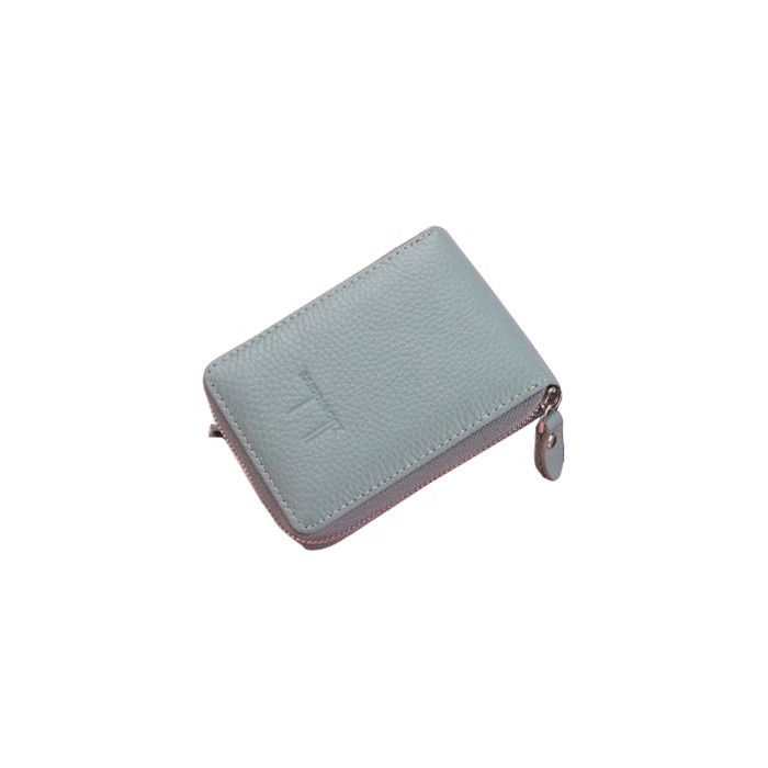 Women's Mini Credit Card Case Wallet with ID Window and Card Holder purse 3 Colors