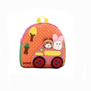 animal applique design toddlers backpack bags