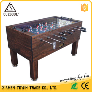 S18 Custom available glass top for foosball, football desk games
