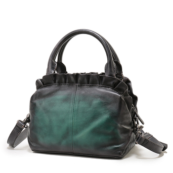 Las Dressing Bags Vintage Guangzhou Shoulder Bag Italian Cowhide Handbags