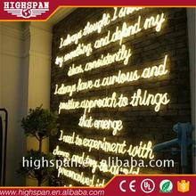 Christmas New year sign letter RGB NEON price neon lights for decoration customized led flex