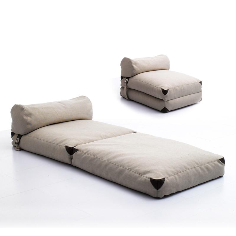Living Room Furniture Sofa Bed Set Lazy Single Person Bean Bag Pvc Flocking