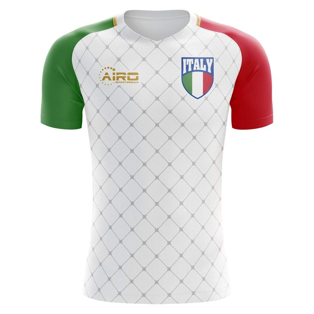 64f3df04d Get Quotations · Airo Sportswear 2018-2019 Italy Away Concept Football Shirt  (Kids)