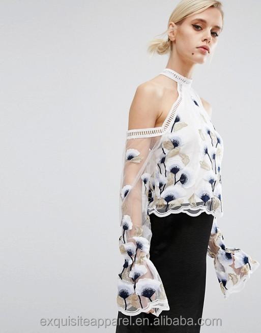 Catálogo de fabricantes de Diseños Bordados A Mano Para Blusas de ...