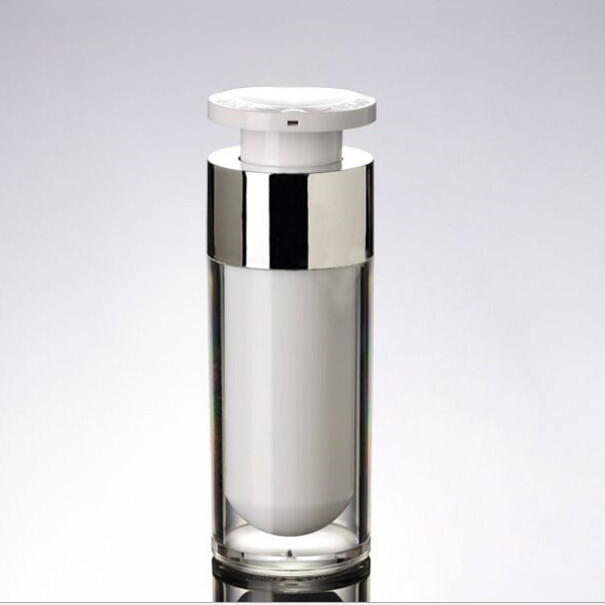 Hoge Kwaliteit 30 ml Acryl Airless Pomp Lotion Fles Cosmetica Dispenser