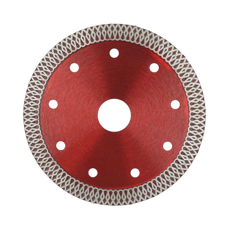 Hot Press Sintered Turbo-mesh Blade Diamond Saw Blade for Granite Tile Porcelain Glass Cutting