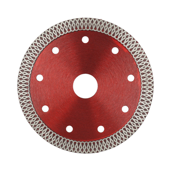 Hot Press Sintered Turbo-mesh Blade Diamond Saw Blade for Granite Tile Porcelain Glass Cutting