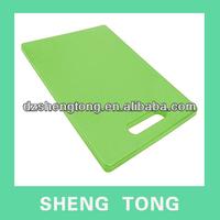 pe plastic index chopping board/cutting board