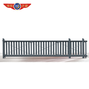 High quality electric sliding gate with wheel